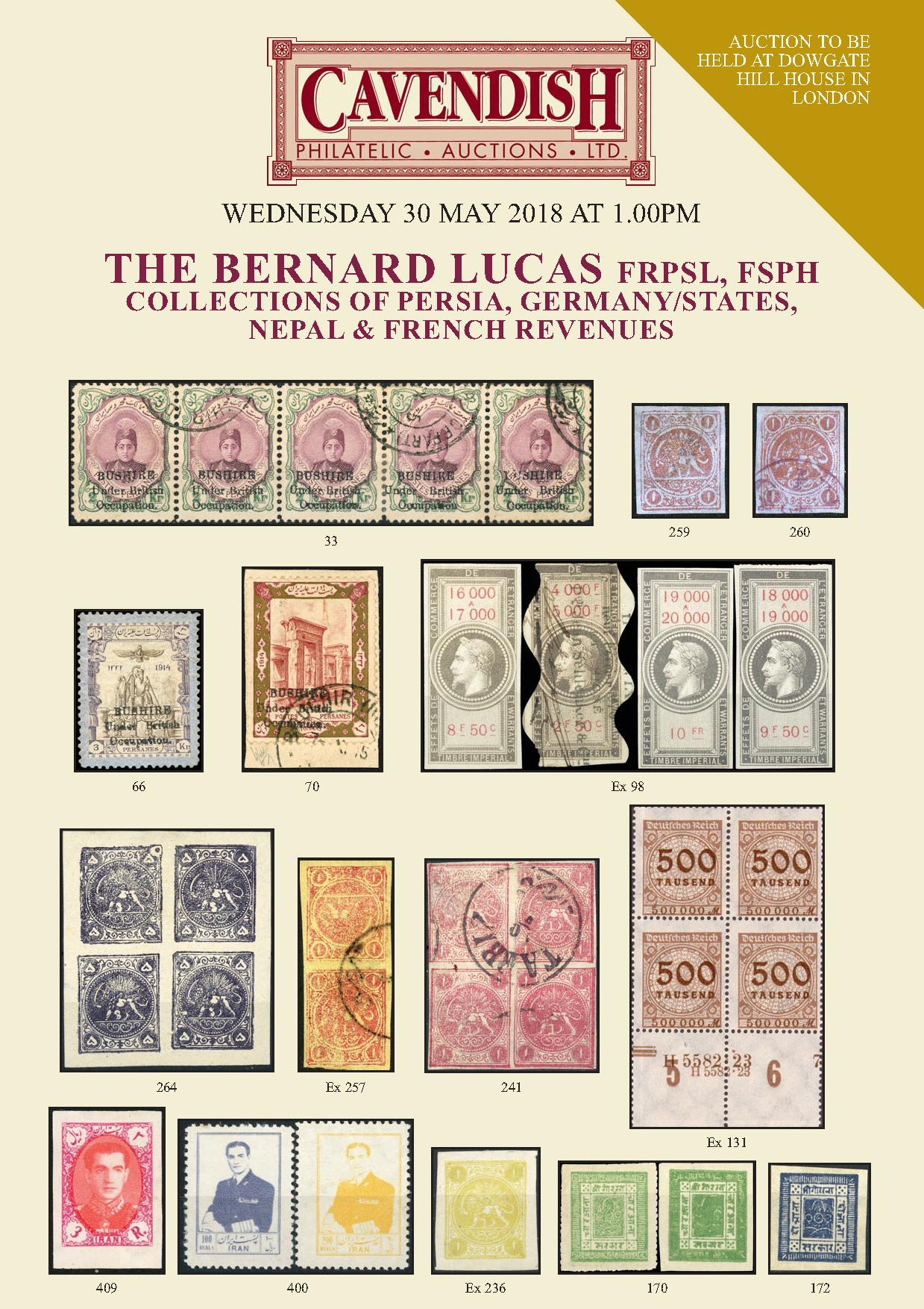 Bernard Lucas Collections